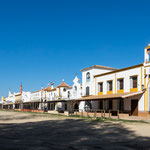 Die wunderschönen Häuser der spanischen Bruderschaften...