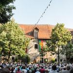 """Der """"Schwört"""" läutet des Esslinger Bürgerfest ein...."""