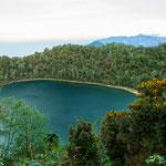 """....der """"heilige"""" Lago Chicabal...."""