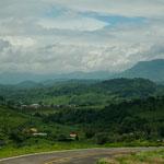 Es hat viel Spass durch dieses wunderbar grüne Hochland zu fahren