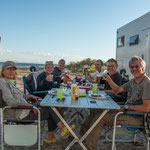 ...zusammen mit Martina, Lothar, Conni und Georg verbrachten wir 2 schöne Tage am Stausee...
