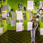 ...im Museum ein Gedenkraum an die lokal ermordeten aus der Militärdiktatur...