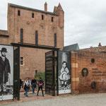 """....""""Toulouse-Lautrec"""" - der bekannte Maler des Mont-Matre Milieus - stammt aus Albi..."""