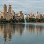 ...auch dieser See liegt im Central Park...