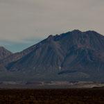 Vulkan der drei Jungfrauen auf dem Weg nach Mulege