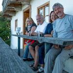 ...und dann kamen noch unsere Freunde Irene und Kurt aus Graz - tausend Dank.