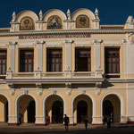 Dieses Theater - 1890 eröffnet hatte berühmte Stars (Enrico Caruso) zu Besuch