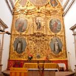 ..... vergoldeter Altar des 1786 fertig gestellten Gotteshauses.....