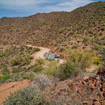 """""""Apache Trail"""" eine der schönsten """"Dreckstrassen"""" der USA"""