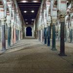 ...die ehenalige muslimische Mezquita (ein Modell)...