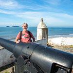 ...dieses portugiesische Fort hat einmal den Hafen Paranagua beschützt...