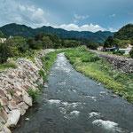 """Der """"Rio Caldera"""" fließt durch den Ort...."""