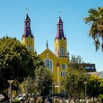 ...die sehenswerte Iglesia San Francisco...