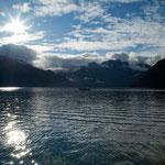 ...es hat alles gepasst: Sonnneschein, Wolken, ruhige See und Panorama....