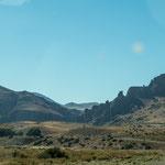 Auch die argentinische Seite nach der Grenze ist schön aber nicht vergleichbar mit der chilenischen...