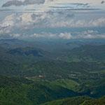 Ganz im Hintergrund der Pazifik mit Puerto Vallarta