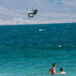 ...die Könner flogen 50m und mehr durch die Luft...
