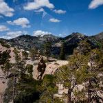 """das """"Sierra Nevada"""" Gebirge"""