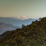 """....ganz in der Ferne der """"Pico de Orizaba"""" - 5.610 m der 3.höchste Berg Nordamerikas"""