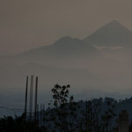"Vulkan ""Santa Maria"" 20 km entfernt....."