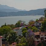 Stadtblick auf den See