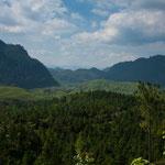 Auch diese Strecke für durch die wilde Bergwelt.....