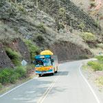 ...ganz selten in Argentinien - ein bunter Bus...
