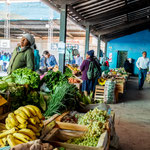 ...der lokale Markt...