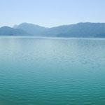 Der Walchesee ist einer der saubersten Seen Deutschlands......