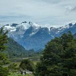 ...im Valle Exploradores gibt es unzählige Gletscher...