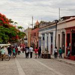 Oaxaca ist Vorreiter in Mexico mit Fussgängerzonen