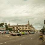 Hier sieht man am besten die alte Pracht von Havanna