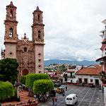Der Zocalo vor der Kathedrale
