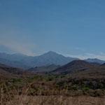 Das Gebirge der Sierra Madre del Sur ist teilweise über 3.000 m hoch.....