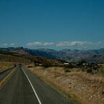 """der östliche Bereich der """"Cascade Range"""" ist trocken und Halbwüste"""