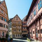 .....600 Jahre alte Fachwerkhäuser....