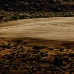 Teilweise reiner Sand