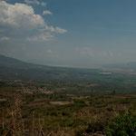 Hier das fruchtbare Tal am Fusse der "Sierra Tapalpa"