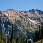 Berge bis knapp 3.000m Höhe
