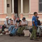 ....in Kuba hat man viel Zeit - auch tagsüber.