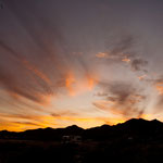 "Sonnenuntergang in ""Los Frailes"""