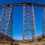 ...dieses Viadukt ist ein impressives Bauwerk - eine Meisterleistung des amerikanischen Ingenieurs.