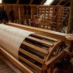 Komplett aus Holz handgefertigte Webstühle...