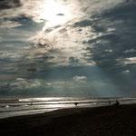 ....die Lichtstimmung am Pazifik und.....