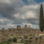 Volubilis - eine Römerstadt mit damals 10.000 Einwohnern...