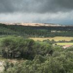 Blick auf Tempio Pausana