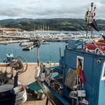Der Hafen von Isola Rossa
