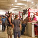 Der spannende Markt in Valladolid....