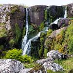 ...und sogar einen Wasserfall innerhalb der Stadtgrenzen...