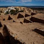Auch hier oben eine alte Pueblo-Siedlung - nur geringe Teile sind heute ausgegraben